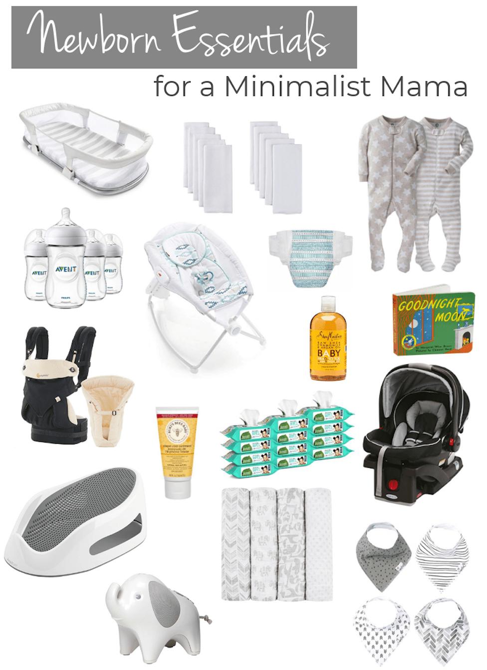 Newborn Essentials For A Minimalist Mama