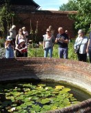 guided tours in the garden