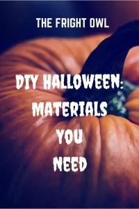 DIY Halloween_ Materials You Need(1)