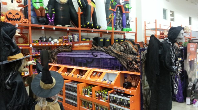 2016 Halloween Merchandise Review: Home Depot