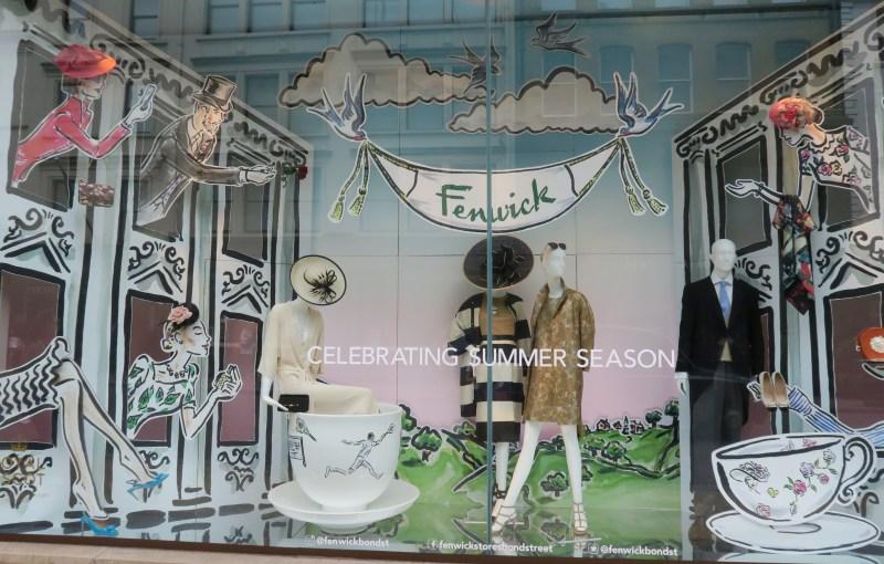Window-shopping a Londra