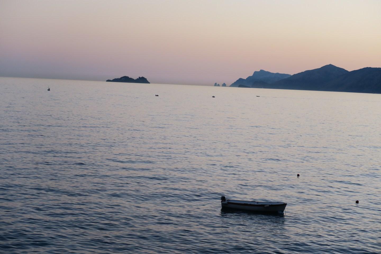 Sunset on Costiera Amalfitana