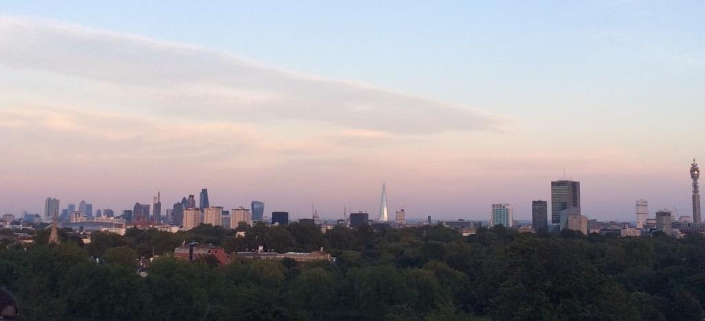 Londra-vista-da-Primrose-Hill