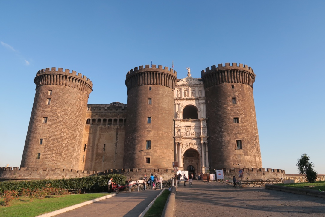 Maschio Angioino castle my weekend in Naples