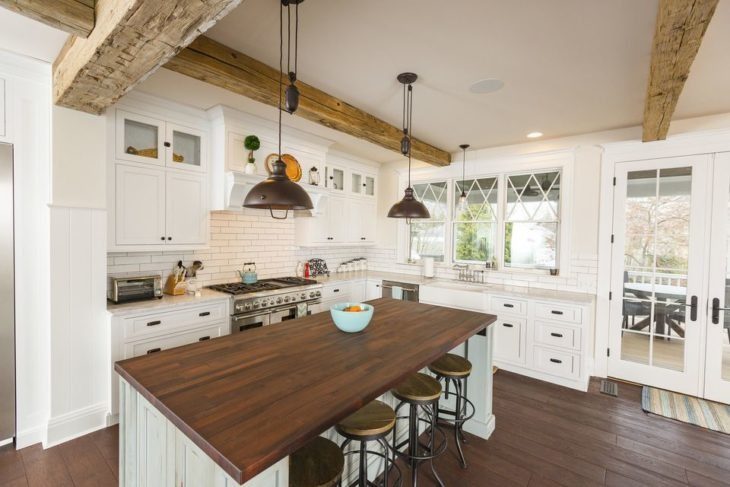 10 Best Modern Farmhouse Kitchen Ideas 2020 - The Frisky on Farmhouse Kitchen Ideas  id=33345