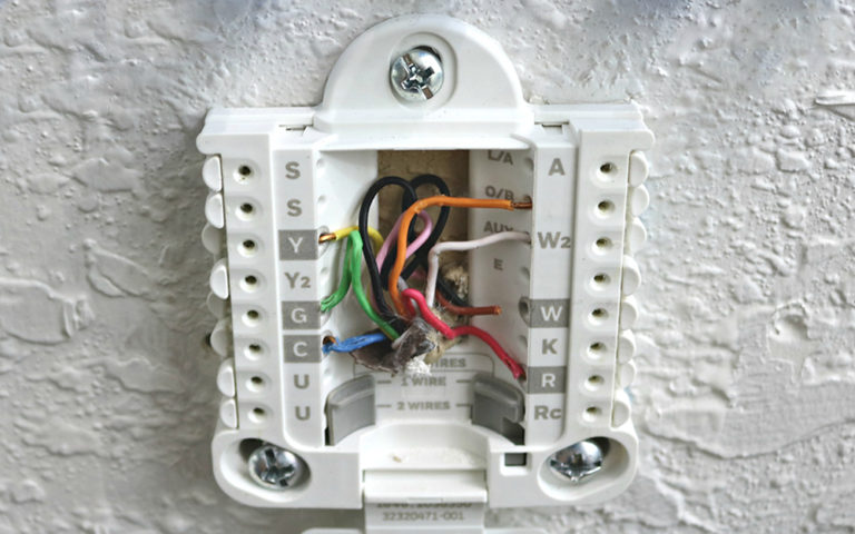 Thermostat Wiring Can You Do It By Yourself