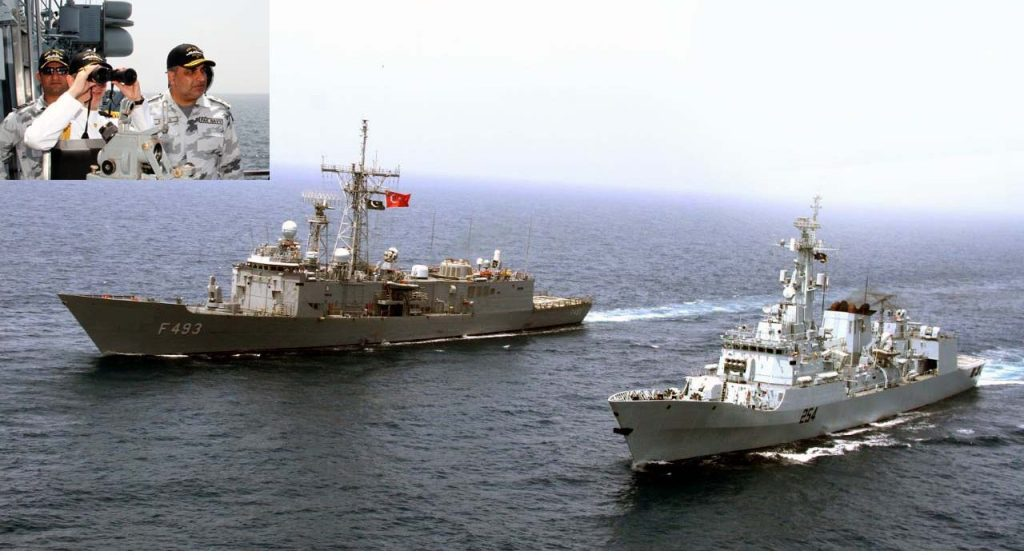 Pakistan-Turkey naval exercise ends - The Frontier Post