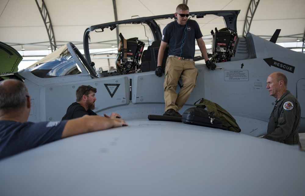 New A-29s arrive in US for training of Afghan air force pilots