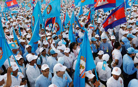 Cambodian PM rallies support for vote