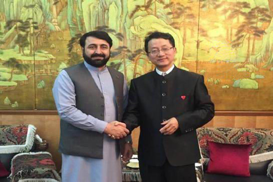 Envoy assures China's support to Nangarhar
