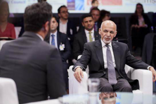 Real dialogue' to bring peace to Afghanistan, says Ghani