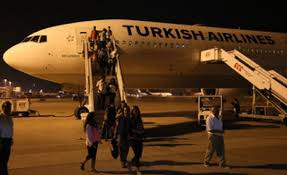 Turkish Airlines passengers rise some 18%