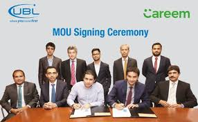 UBL partners with Careem for car financing project