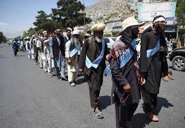 Afghan activists begin barefoot march for peace