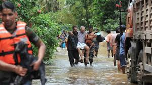 Bodies found as floods recede in Kerala state
