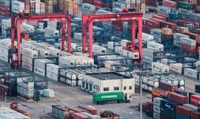 Euro area goods exports up 3.1% in H1