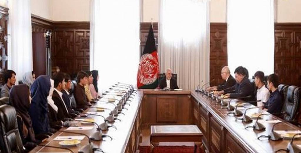 Ghani wants youth to work for country's bright future