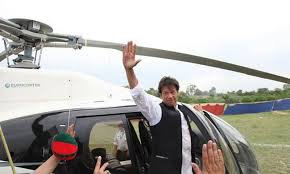 Helicopter misuse case NAB summons Imran Khan today