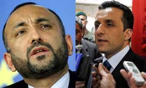 Saleh reacts at Atmar's resignation