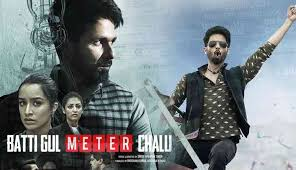 Shahid Kapoor reveals new poster of 'Batti Gul Meter Chalu'