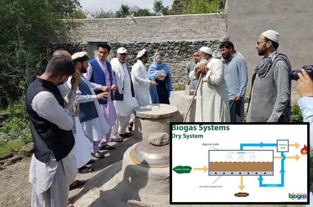 Work on biogas systems kick off in Nangarhar