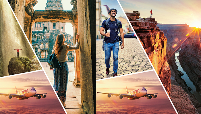 Qatar Airways inspires travellers to ignite their sense of adventure