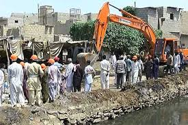 Anti-encroachment drive continues in Arambagh, Lighthouse areas of Karachi