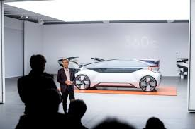 Volvo and Baidu team up to develop self-driving cars for Chinese market