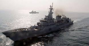 Steel cutting ceremony of warship for PN held in China