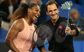 Federer beats Serena in Hopman Cup exhibition match