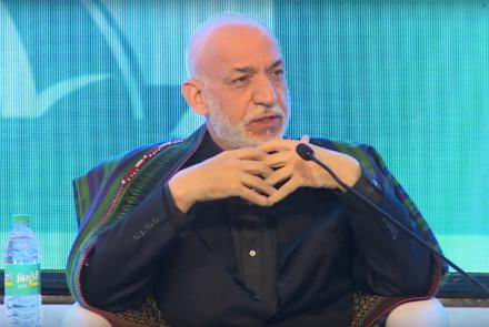 Karzai believes 'Americans' are not going to leave Afghanistan