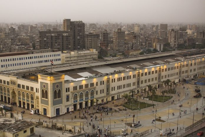 Train station on fire Cairo Blow to tourism in deadly fire