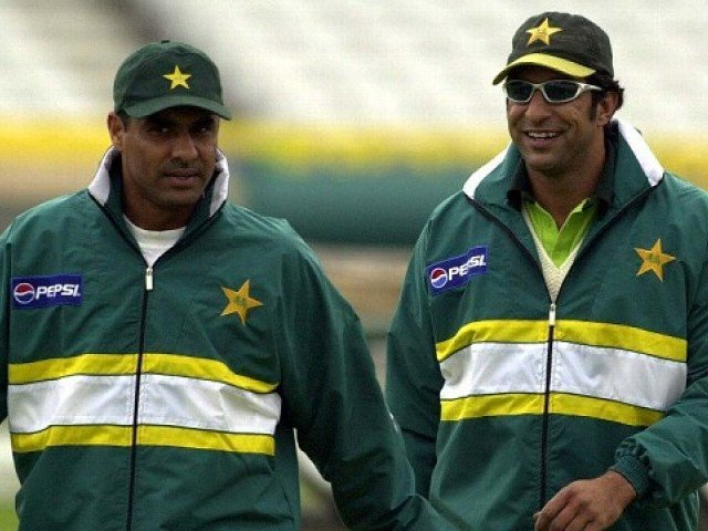 Image result for waqar younis and wasim akram