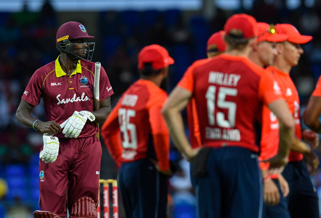 England dismiss West Indies for 45 to clinch series - The