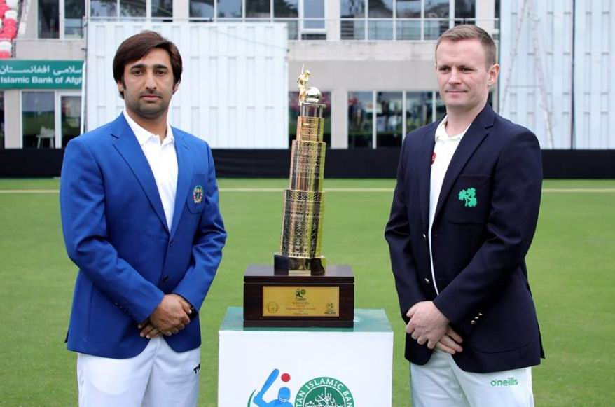 Afghanistan-Ireland Test Match to kick off today