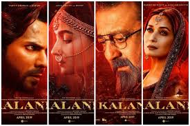 Kalank' to be released next month