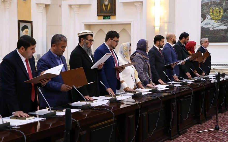 New Afghan election commissioners take oath - The Frontier Post