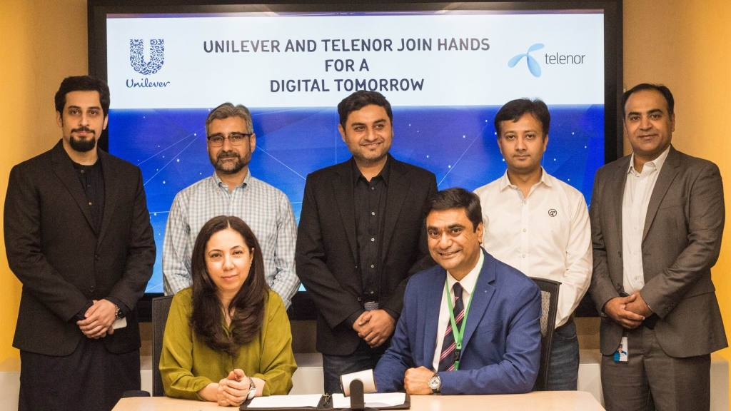 Unilever and Telenor partner to enhance digital inclusion in Pakistan