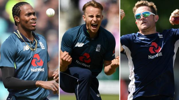 England name Jofra Archer, Tom Curran & Liam Dawson in squad