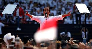 Indonesian elections Widodo holds his position