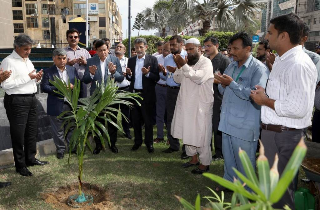 PSO marks Plant for Pakistan Day