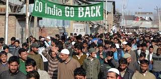 People hold anti-India demonstrations in IOK