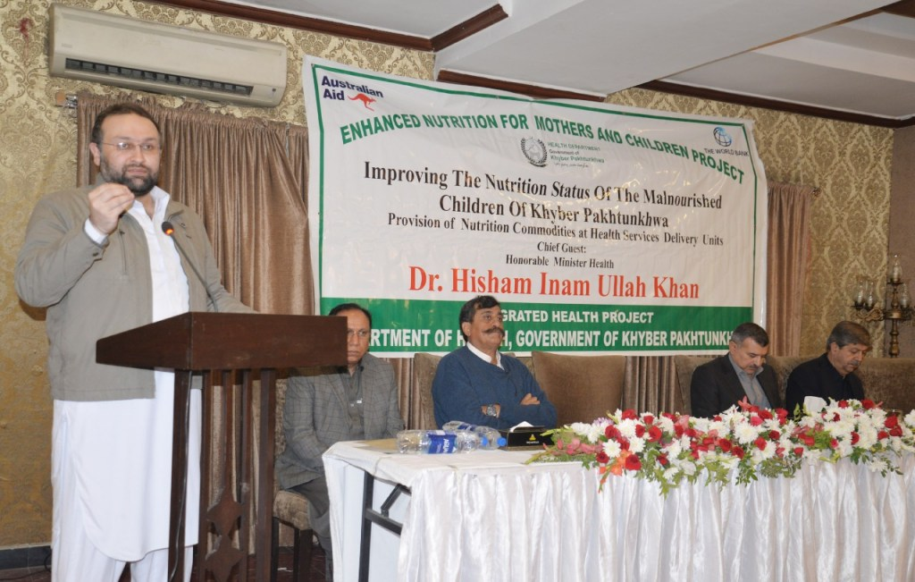 Distribution of Nutrition commodities inaugurated