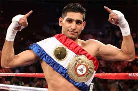 Amir Khan celebrates 33rd birthday