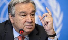 UNSG Antonio Guterres highlights global inequality, failure in controlling climate change