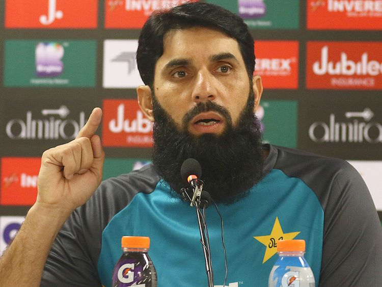 misbah sports page