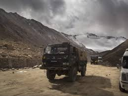 Indian, Chinese armies move heavy weaponry to eastern Ladakh
