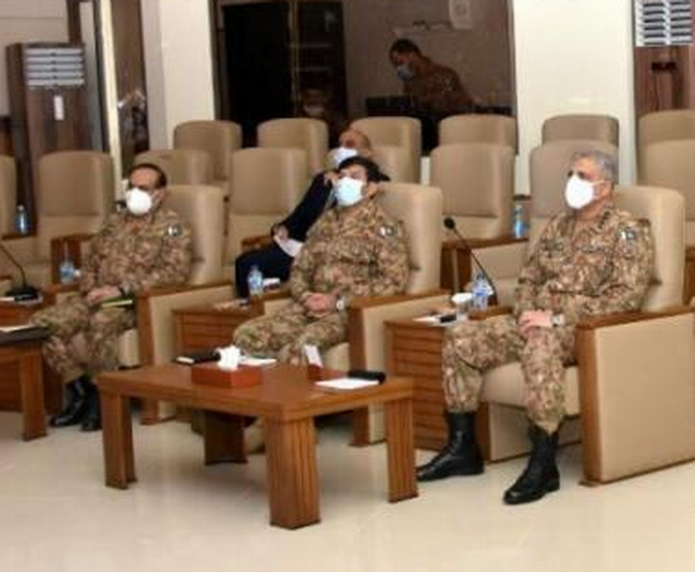 COAS briefed over security situation