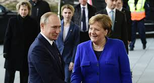 Putin and Merkel say there is