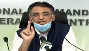 Asad Umar credits masses for drastic reduction in COVID-19 cases